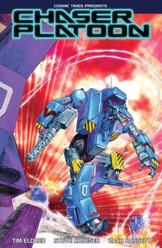 This awesome Kickstarter by Cosmic Times Chaser Platoon: A Mechanized Battle for the Future