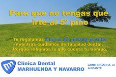 Marhuenda y Navarro: parking gratis