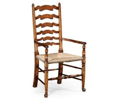 Relish the rustic ambience of this Dining Chair with Arms Cottage in Mazo from the Country Farmhouse collection by Jonathan Charles Furniture. Farmhouse Cabinets, Farmhouse Dining Chairs, Farmhouse Side Table, Country Farmhouse, Walnut Furniture, Large Furniture, Dining Room Furniture, Dining Rooms, Divan Sets