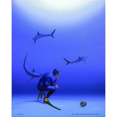 "COGITATOR PICTORIUS - The Thinker photograph - Oil on canvas 20x16 2007 lec763. Priv. coll. Cairns Australia. pascal lecocq Published in Chefs-doeuvre/masterpieces by Pascal Lecocq"" (Usa 2011) From The Thinker by Auguste Rodin 1902 Musée Rodin Paris France. #shark #scubapix #thinker #rodin #art #blue #painterofblue #painting #painter #artist #contemporaryartcurator #artstack #artisticallysocial #artcartridge #artcollectae #glarify #in #pint."