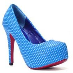 Dotted Red Bottom heels
