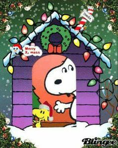 Snoopy Merry CHRISTMAS