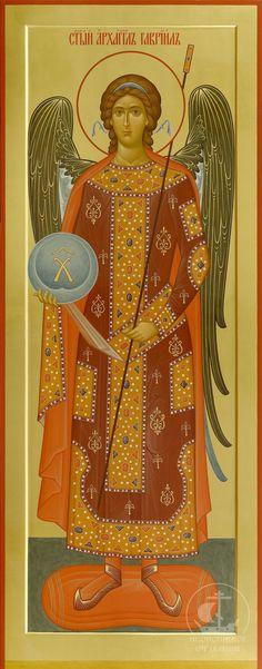 Αρχάγγελος Γαβριήλ / Archangel Gabriel Archangel Gabriel, Archangel Michael, Byzantine Icons, Byzantine Art, Religious Paintings, Religious Art, Archangel Tattoo, Angels Among Us, Orthodox Icons