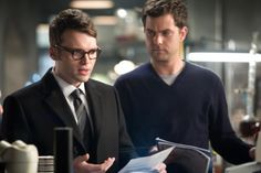 joshua jackson is extremely concerned that seth gabel may be hotter than he is.