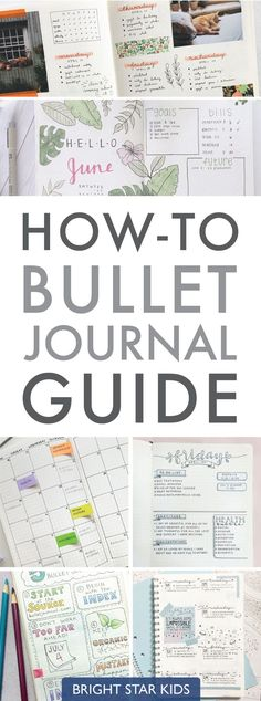 Read our easy how-to guide on starting a Bullet Journal which can keep you organised & inspired. It can be as simple or complicated as you would like. #Startingascrapbook