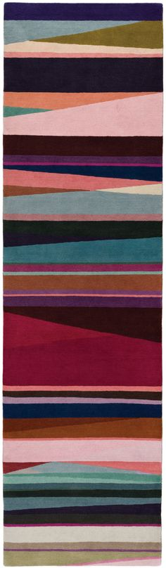 Tapis Refraction Bright Runner, Paul Smith (The Rug Company)