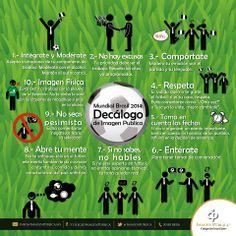 ¡Durante los partidos de la Selección Nacional de México sigue estos #Imagotips de Alvaro Gordoa! #MundialBrasil2014