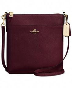 05a209d06296 COACH Courier Crossbody in Crossgrain Leather