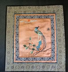 Antique Chinese Silk Textile Art