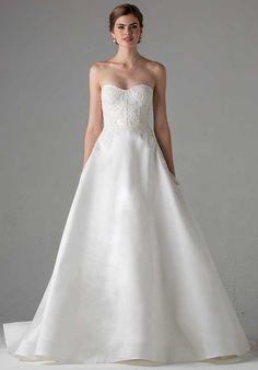 Anne Barge Lyon A-Line Wedding Dress