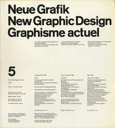 https://flic.kr/p/vkHHmd   Neue Grafik / New Graphic Design / Graphisme actuel, 5, März / March / Mars 1960