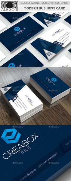 Modern Business Card - #Business #Cards Print Templates Download here:    https://graphicriver.net/item/modern-business-card/20470485?ref=alena994