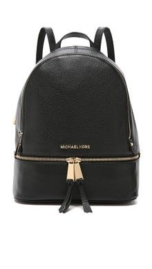 ddff3695109f Michael Michael Kors Brown Rhea Zip Small Backpack ( 298) ❤ liked ...