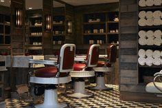 Hairdressing bar by Martin Brudnizki Design Studio | Cowshed Spa, Miami