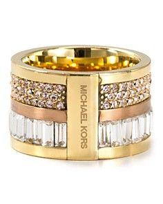 Michael Kors Barrel Ring aka boss lady ring