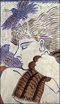 ♥ Greek Paintings, Painter Artist, 10 Picture, Greek Art, Mykonos, Cool Artwork, Animal Print Rug, Folk Art, Greece