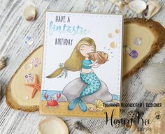 Good Morning Crafty Friends!  Swim along with our New Release - Under The Sea with Honey Bee!  Everything isavailable for purchase todayi...