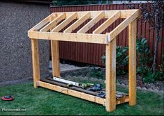 DIY Small Wood Shed | HowToSpecialist - How to Build, Step by Step DIY Plans