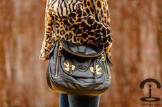 Animal print - Crimenes de la Moda - Estampado leopardo - fur coat - abrigo de pelo - pony tail - jeans - bolso marc by marc jacobs purse