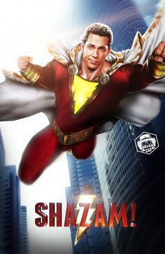 A boy is given the ability to become an adult superhero in times of need with a single magic word. Captain Marvel Shazam, Marvel Dc, Power Rangers Comic, Shazam Movie, Streaming Tv Shows, Avengers, Zachary Levi, Cartoon Tv Shows, Dc Comics Art
