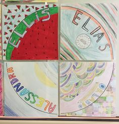 1/4 Cirlces - By Ellis, Elias, Alessandra, Orlando