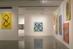 Installation view of Graciela Hasper: Gramática del Color, Museo del Arte Moderno de Buenos Aires, 2013-2014. Contemporary Artists, Modern Art, Philadelphia Museum Of Art, Light Installation, Museum Of Fine Arts, Art History, Art Gallery, Architecture, Board