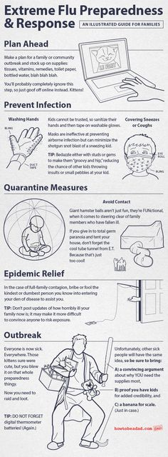 Extreme Flu Preparedness and Response An Illustrated Guide for Families