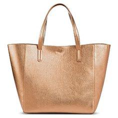 Women's Reversible Tote Faux Leather Handbag - Merona™