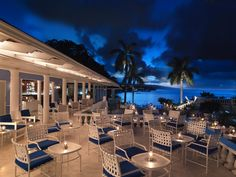Start your evening with a cocktail on our terrace before dining on gourmet cuisine at Jamaica Inn. http://jamaicainn.com/dining.php