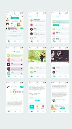 Design #38 por 9zArt | Story writing with friends app