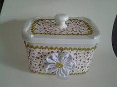pote de sorvete decorado com tecido - Pesquisa Google
