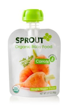 Carrot Baby Food | Sprout Organic Foods For Babies