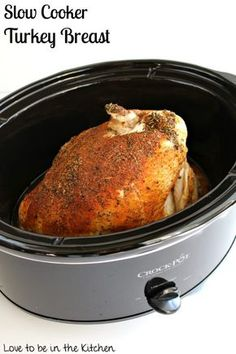 Slow Cooker Turkey Breast- Moist, tender, full of flavor and so easy to prepare! Cooking a turkey can be so intimidating but not with this recipe! It's extremely simple and the flavor is outstanding! This is the perfect recipe for a small turkey/Thanksgiving dinner or to prepare turkey for a week of lunches/meals. A few... Read More »