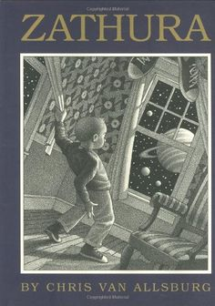 Zathura unleashes intergalactic challenges that require even the quarreling Budwing brothers to work as a team. http://www.amazon.com/Zathura-Chris-Van-Allsburg/dp/0618253963/ref=sr_1_65?m=A3030B7KEKNTF7&s=merchant-items&ie=UTF8&qid=1394399284&sr=1-65&keywords=young+reader