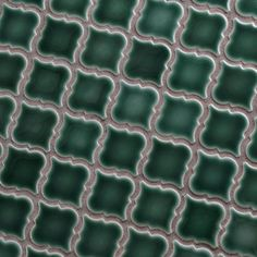 Merola Tile Hudson Tangier Emerald 12-3/8 in. x 12-1/2 in. x 5 mm Porcelain Mosaic Tile-FKOLTR30 - The Home Depot