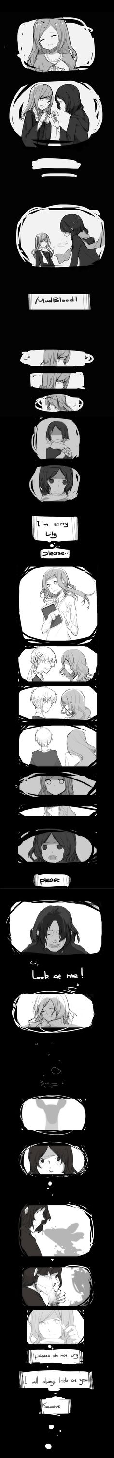 Severus Snape, Lily Evans