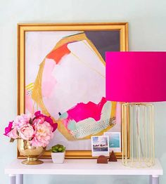 Neon decor doesn't have to be loud and overpowering! @dreamgreendiy takes you on a tour of 4 rooms that effortlessly incorporate bright and bold colors.