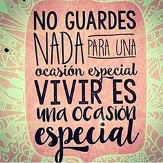 Disfruta de tu ocasión especial ;)