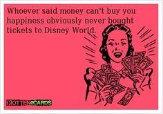 Tickets to Disney World!