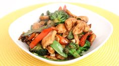 Chicken & Veggie Stir Fry Recipe - Laura Vitale - Laura in the Kitchen E...
