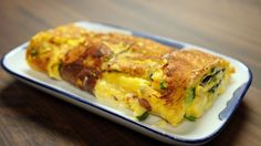 Cheesy Japanese Omelette | Asian Food Channel