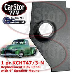 Custom #autosound kcht 47/3-n kick #panel no speakers #47-53 chevy/gmc trucks,  View more on the LINK: 	http://www.zeppy.io/product/gb/2/281739443919/