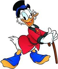 Scrooge McDuck was first introduced in 1947 - most Boomers who grew up in the knew him as Uncle Scrooge - he was a super popular comic book character in the List Of Disney Characters, Classic Cartoon Characters, Classic Cartoons, Disney Movies, Les Looney Tunes, Looney Tunes Cartoons, Disney Cartoons, Duck Cartoon, Cartoon Faces