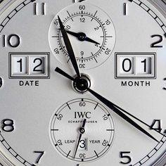 IWC Portugieser Perpetual Calendar Digital Date Month 75th Anniversary - dial CU