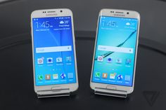 Up close with Samsung's Galaxy S6 and S6 Edge | The Verge