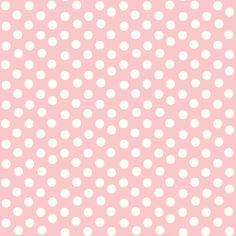 Creamy white polka dots on a pink background. Simple, pretty and feminine, this pattern comes in a variety of colors. The pewter color would make a lovely complementary backing to a fabric project.