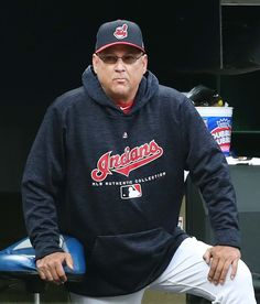 Cleveland Indians manager Terry Francona watching the Tribe against the Toronto Blue Jays at Progressive Field, on April (Chuck Crow/The Plain Dealer). Cleveland Indians Baseball, Cleveland Rocks, Baseball Uniforms, Baseball Equipment, April 13, Toronto Blue Jays, Crow, Mlb, Ohio