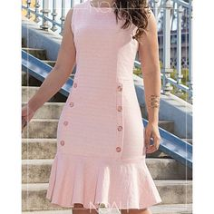 Eliete Simple Dresses, Casual Dresses, Dresses For Work, Summer Dresses, African Wear Dresses, Dress Outfits, Fashion Outfits, Classy Dress, Saree Blouse Designs