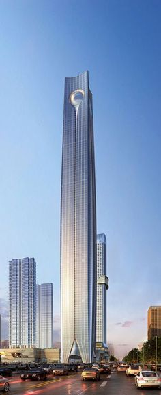 Pearl of the North, Shenyang, China by Atkins Architects :: 111 floors, height 565m #architecture #Highrise