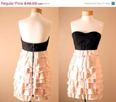 ON SALE Evan Corset Strapless Dusty Pink Princess by PYTboutique, $38.40